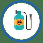 Icono Pasos previos para la eliminación de plagas