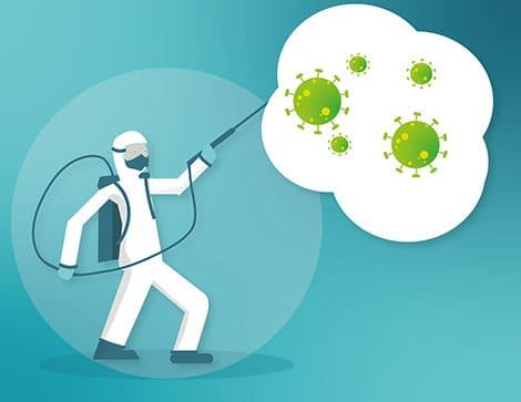 La importancia de la desinfección ambiental en tiempos de Covid en hogares y negocios